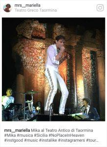 Dal concerto al Teatro Antico di Taormina dell'Estate 2015 (Foto Mariella Caruso)