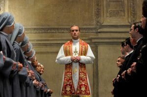 "Set of ""The young Pope"" by Paolo Sorrentino. In the picture Jude Law. (Ufficio Stampa - Photo by Gianni Fiorito)"