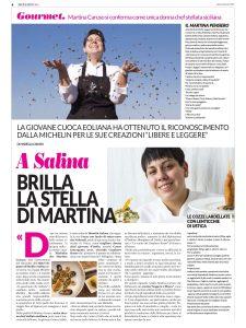 """Martina Caruso su """"Sicilia in Rosa"""""""