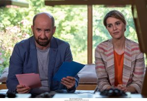 """Paola Cortellesi e Antonio Albanese in """"Mamma o papà?"""" (Foto Ufficio stampa Medusa)"""
